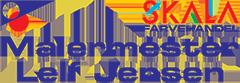 Leifjensenmaler Logo